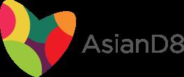AsianD8 Heart Logo